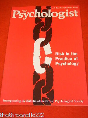 The Psychologist - Risk In The Practice Of Psychology - Sept 1996