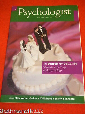 The Psychologist - Same Sex Marriage - May 2005