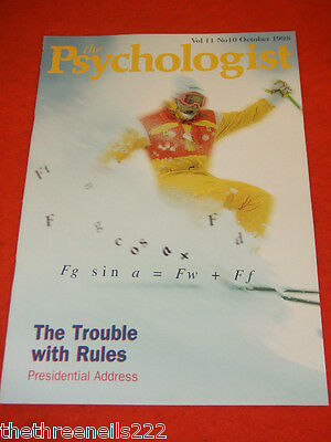 The Psychologist - The Trouble With Rules - Oct 1998