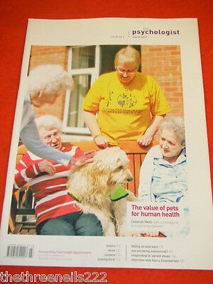 The Psychologist - The Value Of Pets - March 2011