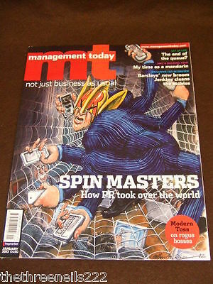 Management Today - Pr Spin Masters - Jan 2013