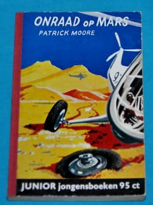 patrick moore onraad op mars BOOK DUTCH 1950s sf science fiction space