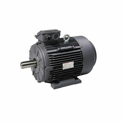 0.55KW PREMIUM ELECTRIC MOTOR 3 PHASE 2800 RPM 2 POLE 3/4 HP Horse Power NEW