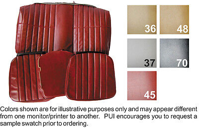 1977 CHEVY CAMARO COUPE STANDARD REAR SEAT COVER 5 COLORS AVAILABLE