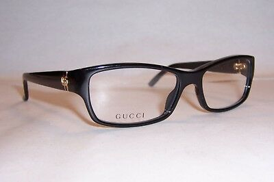NEW GUCCI EYEGLASSES GG 3573 GG3573 807 BLACK 54mm RX AUTHENTIC