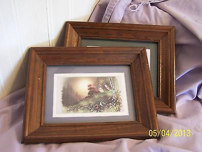 Vantage 2pcs Wall Picture By Home Interior In Ex Condition