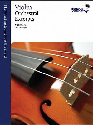 Royal Conservatory Violin Series 2013 Orchestral Excerpts