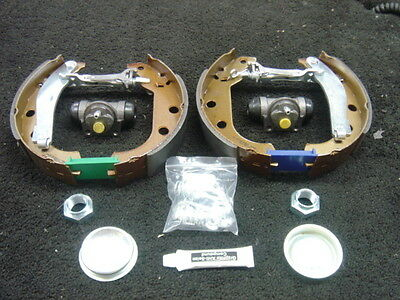 CITROEN XSARA PICASSO 2000-2010 REAR BRAKE SHOES AND WHEEL CYLINDERS SET