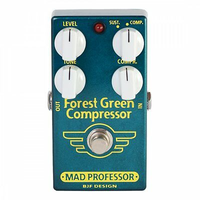 Mad Professor Forest Green Compressor (PCB) Boutique Guitar Effect Pedal - New!