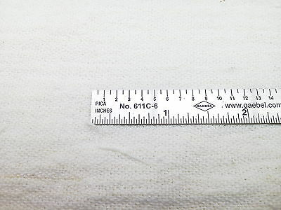 "Gaebel 611C-6 Stainless Steel 6"" Printers Line Gauge (ruler)"