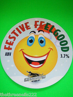 Beer Pump Clip - Elgood's Festive Feelgood