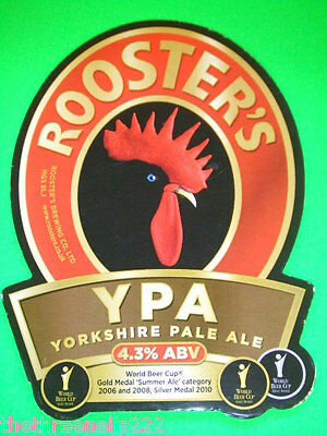 Beer Pump Clip - Rooster's Ypa Yorkshire Pale Ale