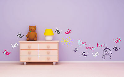 wandtattoo sticker wunschname t r affe afrika lustig. Black Bedroom Furniture Sets. Home Design Ideas