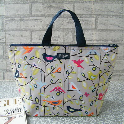Thermal Insulated Tote Lunch Bag Cool Bag Cooler Lunch Box Handbag