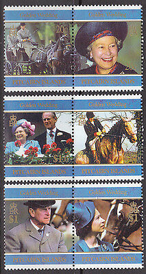 1997 Pitcairn Island Golden Wedding QEII & HRH Prince Phillip - MUH
