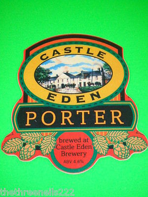 Beer Pump Clip - Castle Eden Porter