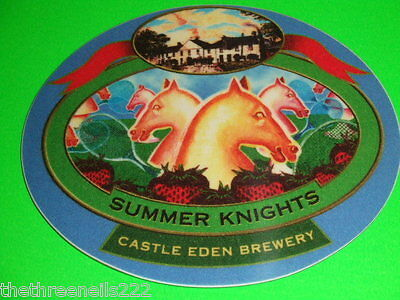 Beer Pump Clip - Castle Eden Summer Knights