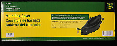"John Deere Mulch Cover for 48"" inch decks on 100 series lawn tractors GY20417"