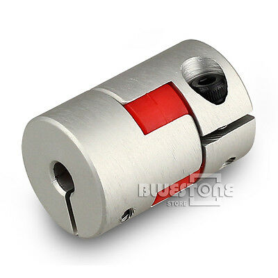 New Kinds 5/6/6.35/8/10mm CNC Flexible Plum Coupling Shaft Coupler D20 L30