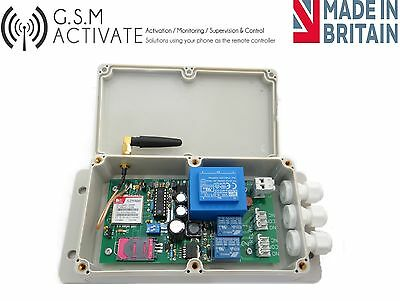 Gsm Switch With Timer Function  -  Mobile Phone Remote Control