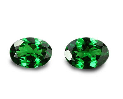 1.29 Carats Natural Tsavorite Loose Gemstone - Oval