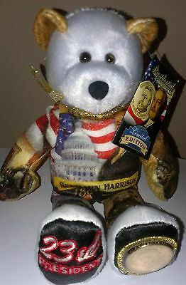 President Benjamin Harrison Dollar Coin bear # 23 in the Limited Treasure series