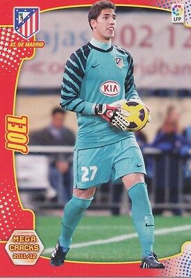 N°020 Joel Robles Blazquez # Atletico Madrid Card Panini Mega Cracks Liga 2012