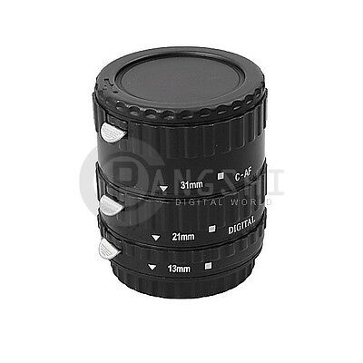 Macro AF Auto Focus Automatic Extension Tube Set for CANON EF EF-S Lens