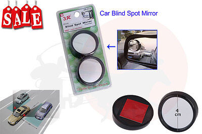 Pair of Adjustable Wide Angle Blind Spot Rearview Mirror for Cars