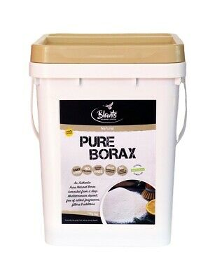 Naturally Harvested Pure Unscented Quality Borax 10kg