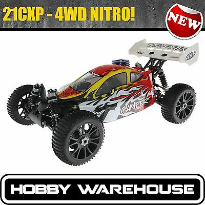 HSP 1/8 Scale RC Buggy Nitro 4WD OFF Road Camper Pro 2.4Ghz Remote Control 94760
