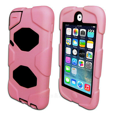 Pink Tough Protective Heavy Duty Case for iPod Touch 5 6 5th 6th Gen Cover