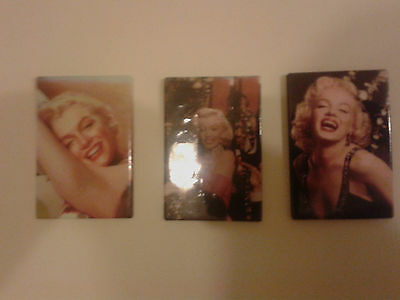 a set of 3 marilyn monroe fridge magnet size 54mmx79mm new with free post