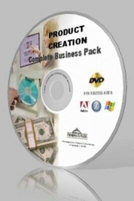Product Creation Complete Business Pack DVD - Video Courses, Expert Guides&More!
