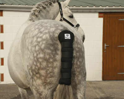 Rhinegold Cotton Quilted Tailguard - Horse tail guard
