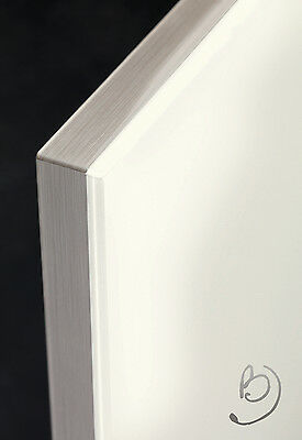 High Gloss White Kitchen Cabinet Door Fronts - High Quality - Glass Effect Edge
