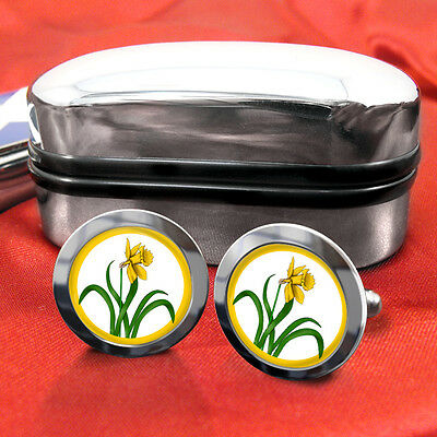 Glamorgan County Cufflinks & Box