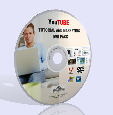 YouTube Complete Training Pack - Videos, Guidebooks, Software and More! DVD