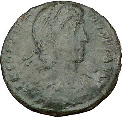 CONSTANTIUS II Constantine the Great son AE2 Ancient Roman Coin Horse i22065