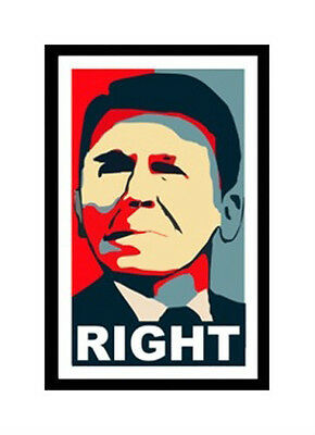 Ronald Reagan Right Wing Conservative Anti Obama Sticker Decal DC 151