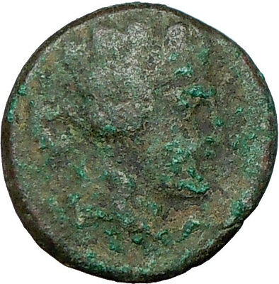 MARONEIA Thrace 148BC Ancient   Greek Coin NUDE DIONYSOS WINE God  i23902