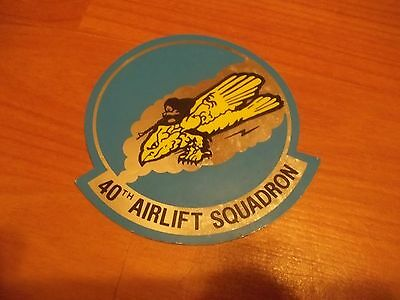 40th Airlift Squadron Decal
