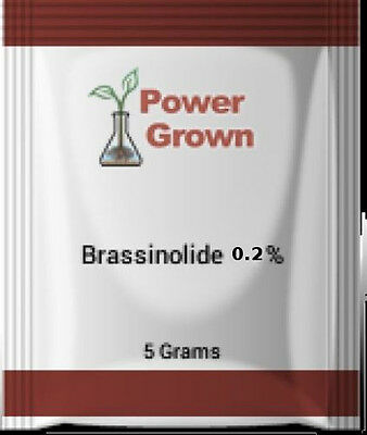 Brassinolide 0.2% 5g.  brassinosteroid With Instructions, Spoon and rebates
