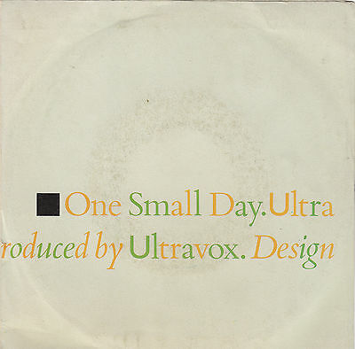 """ULTRAVOX - one small day / easterly 45"""""""
