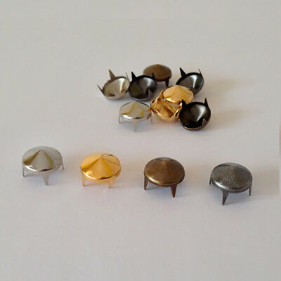 Cone Spike Studs Claw Rivets DIY Leather Craft Bag Belt Shoes *** Non-Rust ***