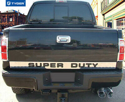 TYGER For 08-16 F250/F350 Super Duty Tailgate Molding Trim Outline 4 3/8' 1PC