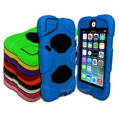 Tough Protective Heavy Duty Case for Apple iPod Touch 5 6 5th 6th Gen Cover
