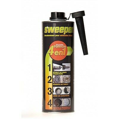 Sweeper 1L: Additif / Nettoyant Injecteur Fap Catalyseur Turbo