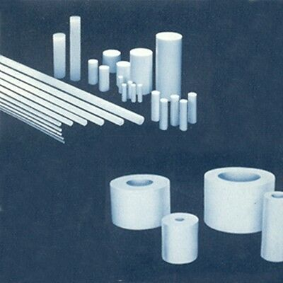 "Teflon PTFE Round Rod  Dia. 100 x long 300 mm (3.94 x 12"")"
