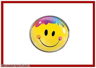 anneys ~ GOLF  BALL  MARKER - * colorful smiley face* ~